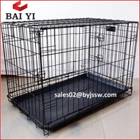 China Wholesale Metal Iron Foldable Cage for Pet Dog
