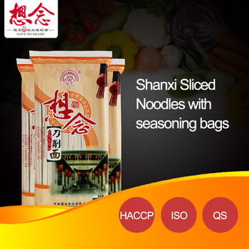 OEM Sliced ready noodles with seasoning bags