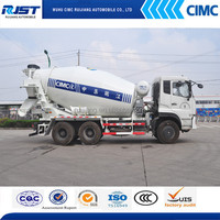 CIMC Concrete Mixer truck ,mini truck with concrete pump (DONGFENG CHASSIS)
