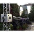aluminum LED display screen stage truss system for sale concert