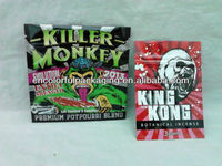 King Kong Bag/Scooby Snax/Pure Evil herbal incense bags