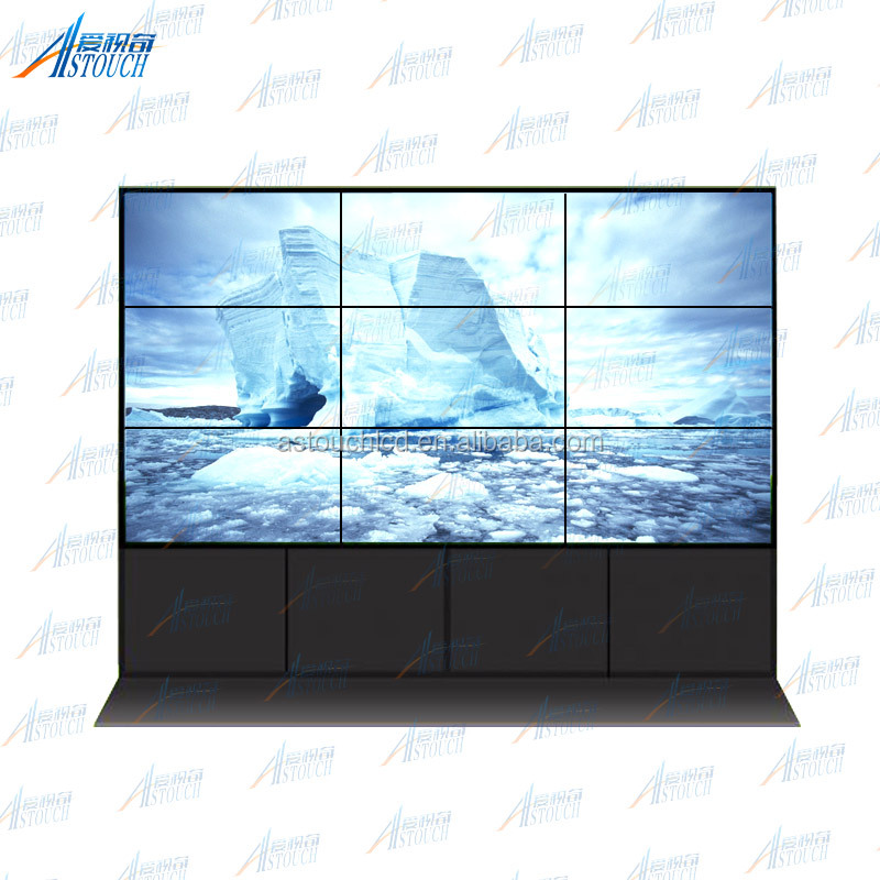 "Cost effective 55"" 3x3 LG panel led Video wall price with video"