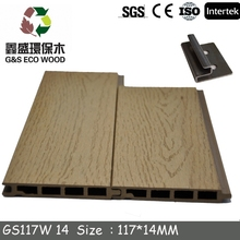 Eco-friendly wood plastic composite floor cladding wpc outdoor wall panel