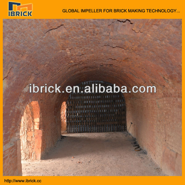 New technology! hoffman kiln for clay brick making machine line