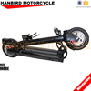 Hanbird Mini Folding Electric Bike Small Electric Scooter with Lithium Battery