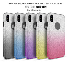 New hot selling Glitter mobile phone shell Bling Case For Iphone8