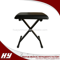 Wholesale music keyboard instrument adjustable piano bench
