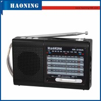 am fm rechargeable world band receiver radio with usb tf