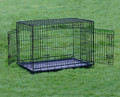 Pet Dog Wire Cage With Two Doors