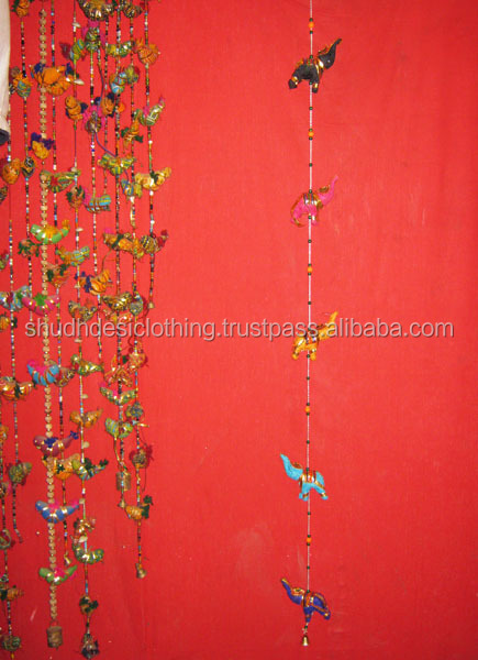 Lovely Indian Traditional Birds Strings,Elephant Strings Door Wall Hangings