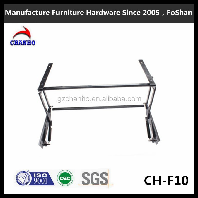 Super Quality Table Hardware Fitting Metal Folding Frame For Table Save Space Dining Table Parts CH-F10