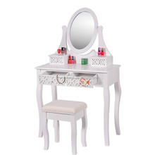 First-class vanity dressing table with mirror