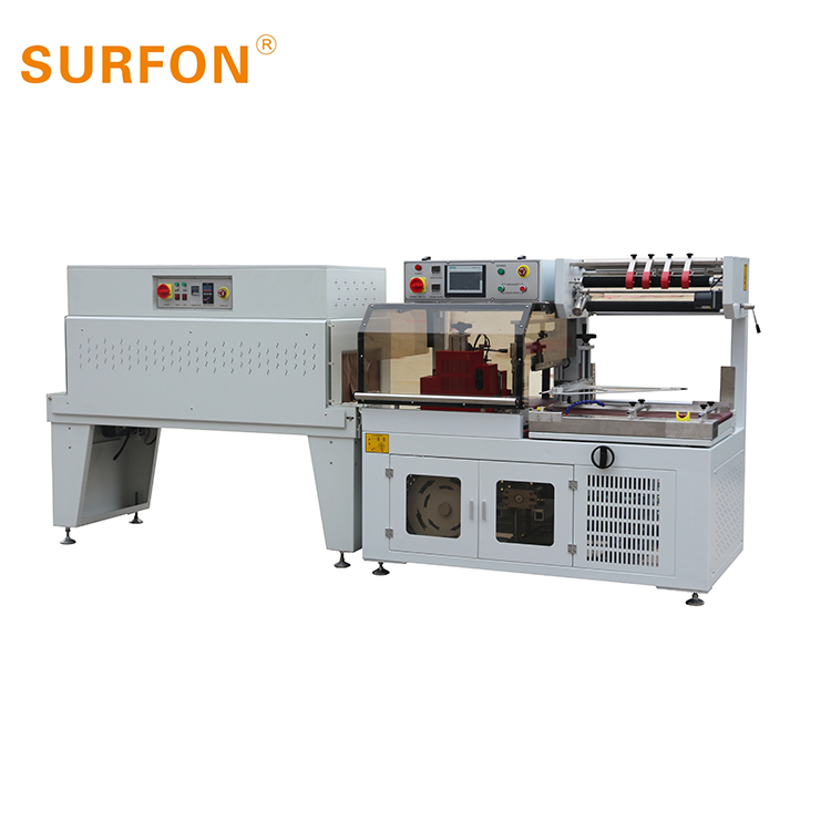 magazine SHRINK TUNNEL WRAPPING MACHINE