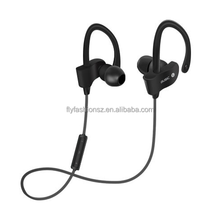 OEM Waterproof Ear Hook Sports Wireless Bluetooth Headphones 4.1 Magnetic Earbuds Stereo Earphones with Mic Noise Cancelling