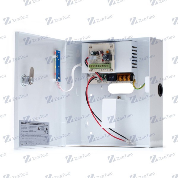 power supply for access control system, door control