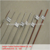 Single layer weave coaxial communication cable