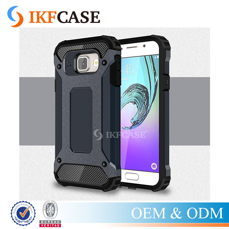 Hybrid Durable Armor Case For Samsung Galaxy A3 2016 A310 A3100 A310F Silicone + PC Shockproof Hard Rugged Cases Cover
