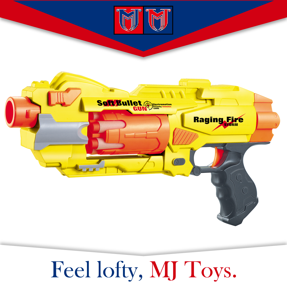Plastic soft bullet gun toys , soft ball gunwith cheap price