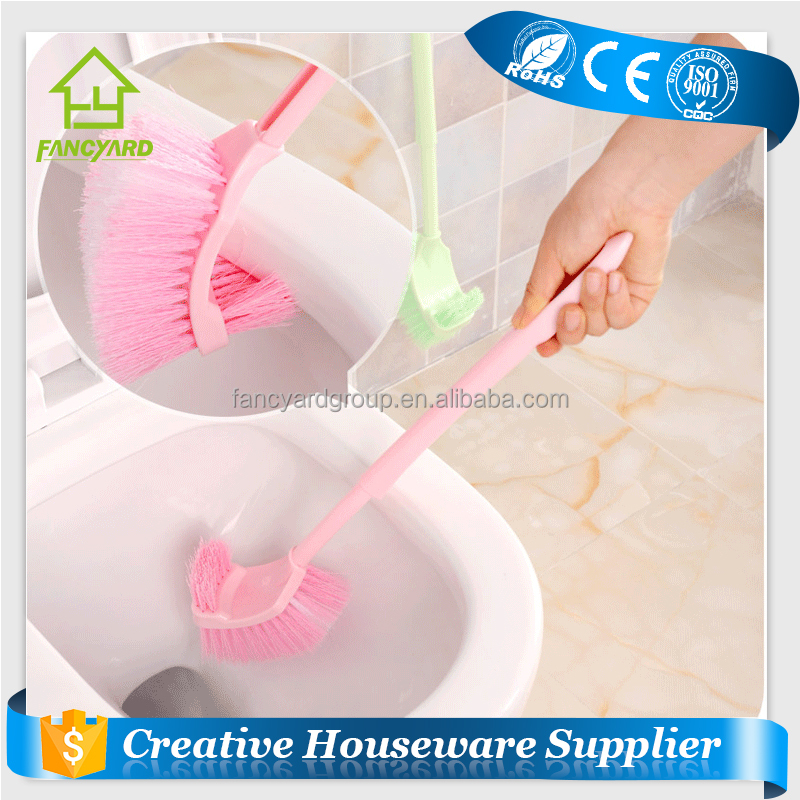 FY5103 Toilet Brush/ Cheap Price Creative Bathroom Two Sided Plastic Toilet Bowl Brush,Toilet Cleaning Brush