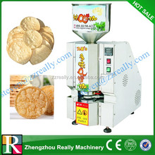 Hot Sale Crispy Snack Food rice cake making machine/Popped Rice Cake Machine