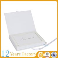 paper insert custom greeting card packaging