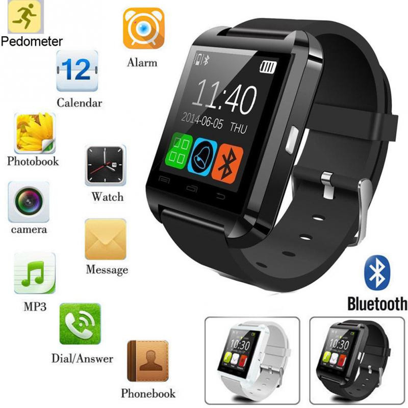 For IOS and Android voice recorder wrist watch DZ09 A1 T2 bluetooth smart watch oem electronic watch
