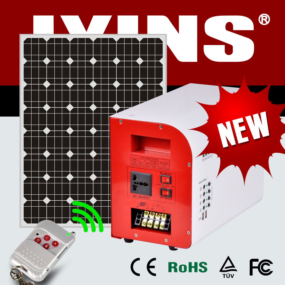 portable solar power system 300w solar system for home appliances
