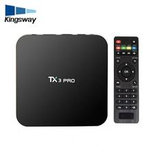 Cheap android 6.0 tv box TX3 pro S905X 1GB 8GB support for Latinos Sounth America Colombia Argentina Mexico US Spanish iptv