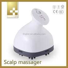 Newest High Quality Products Waterproof Blood Circulatory Head Massager Handheld Acupressure Vibrator Massage Machine