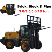 New Diesel Pipe Forklift for sale with Cumins Engine