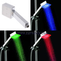 Three colors temperature detectable light color shower Gift for the Christmas Day / Festival present