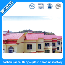 Construction Corrugated plastic Roofing tiles Material,Building Construction Material for house roof tops