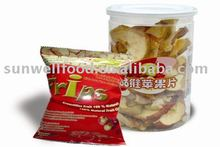 Low Temperature Vacuum Fried Apple Chips (Healthy Snack)