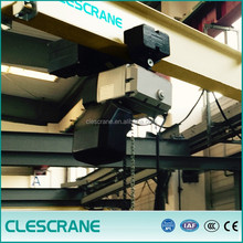 small chain hoist with manual trolley for rotary beam jib crane