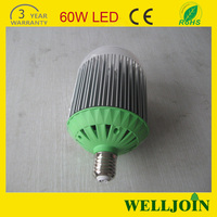 High-power Energy-saving led bulb e40 60w, 3-year Warranty