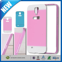 C&T Aluminum Metal Bumper Frame Case with Acrylic Back Plate Cover For Samsung Galaxy Mega 6.3 I9200
