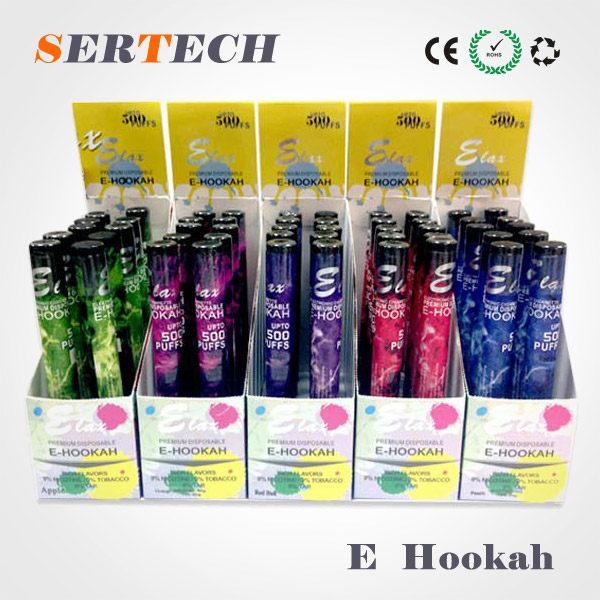 elax hookah pen, e cigarette ehookah,elax smells colorful disposable e cigarette from Globalsell
