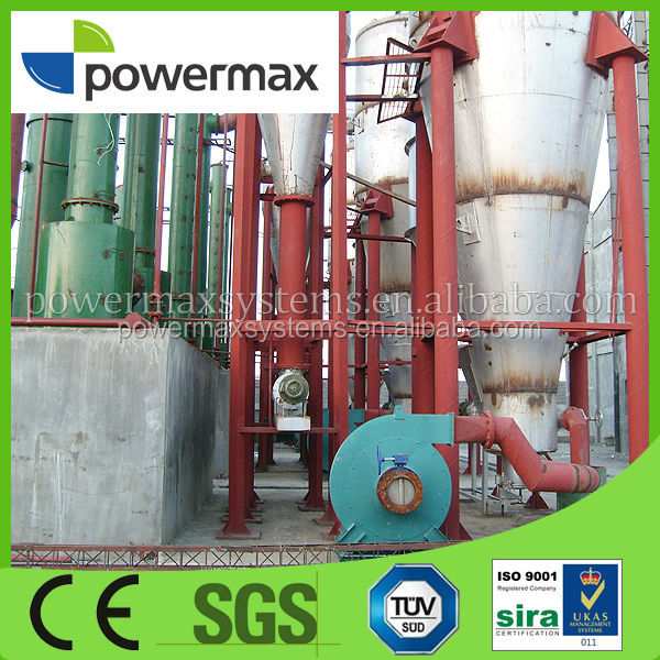 Combined Heat and power(CHP) biomass gasifier electricty generator for eucalyptus wood chips