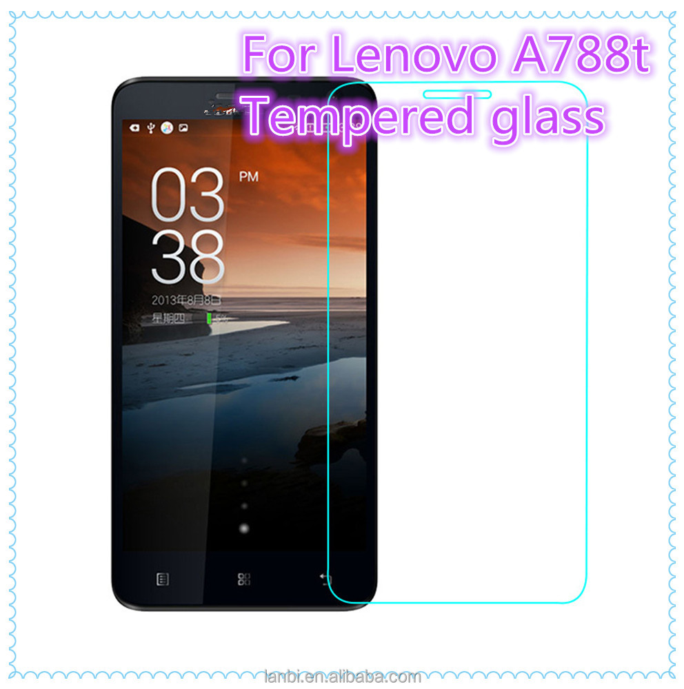 For Lenovo A788t Tempered glass screen protector Explosion-Proof Anti-Scratch Film 2.5D Japan glue mobile screen protector