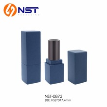 Dark Blue matte square mini lipstick tube for lipstick sample
