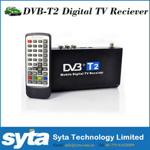 Full HD 1080P DVB-T2 Car TV turner Free To AIr AVC,MPEG4 H.264 MPEG4 Colombia Russia Thailand Indonesia Singpore Malysia