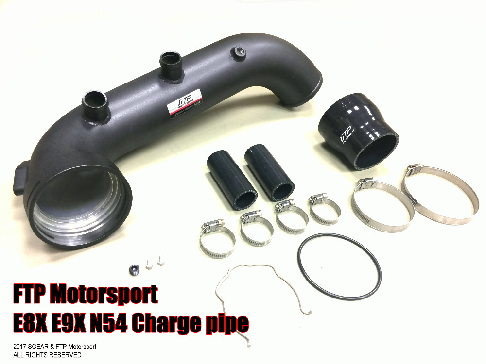 sgear ftp motorsport n54 charge pipe for bmw 135i. Black Bedroom Furniture Sets. Home Design Ideas