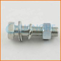 High Tensile Fastener nut and bolt, coal mine roof bolt