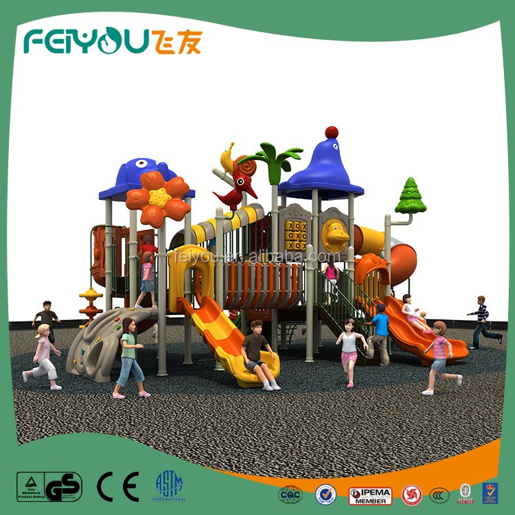 2017 Feiyou Newest Classic Children Outdoor Slider Playground equipment for kid game