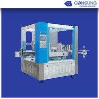 Automatic OPP roll fed glue labeling machine