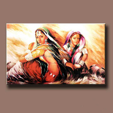 sexy girl canvas oil painting art for hotel