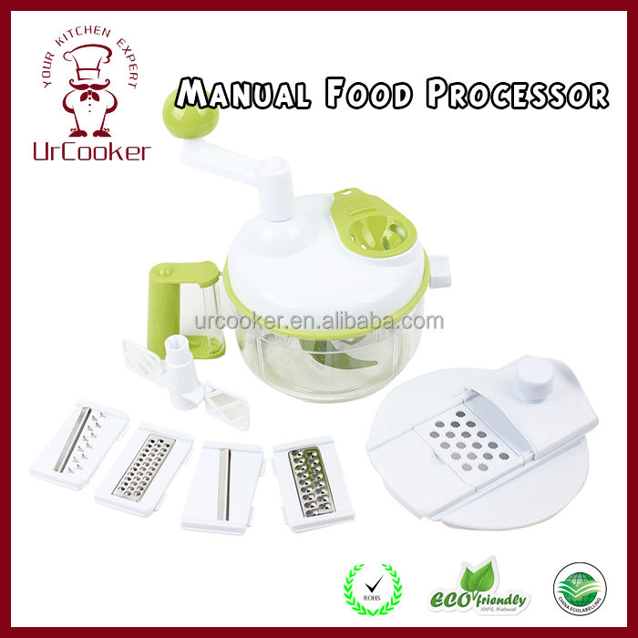 Hand held vegetable food chopper/salad maker/manual machines