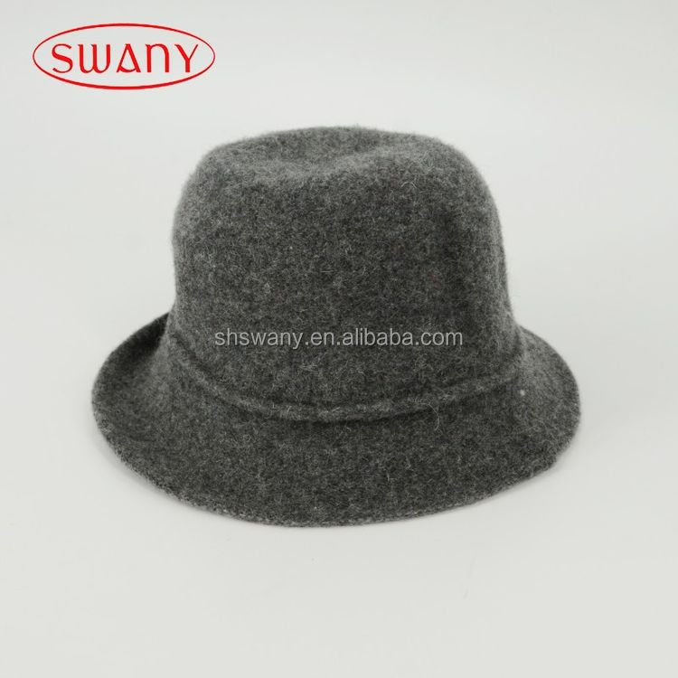 Super quality long service life wool felt air hostess cap