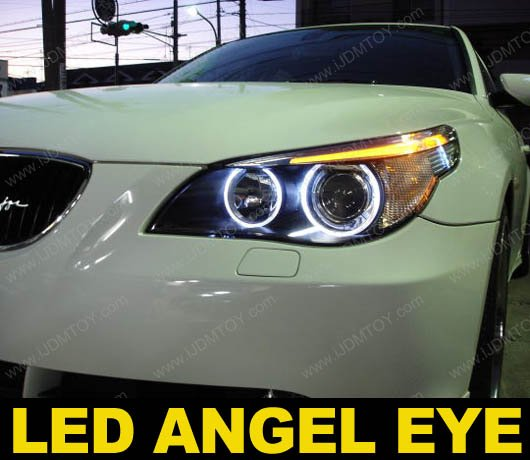 LED AND CCFL + LED ANGEL EYES HALO RINGS light