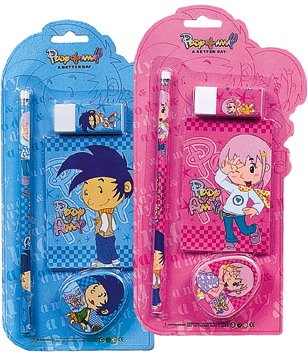 school 4pcs stationery set for children